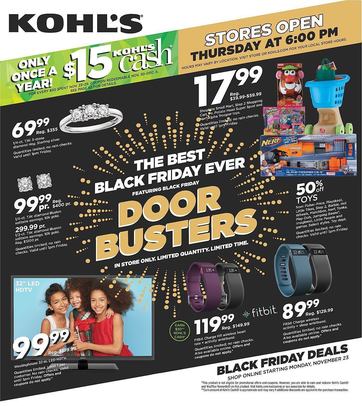 kohls black friday ad 2015 page 1