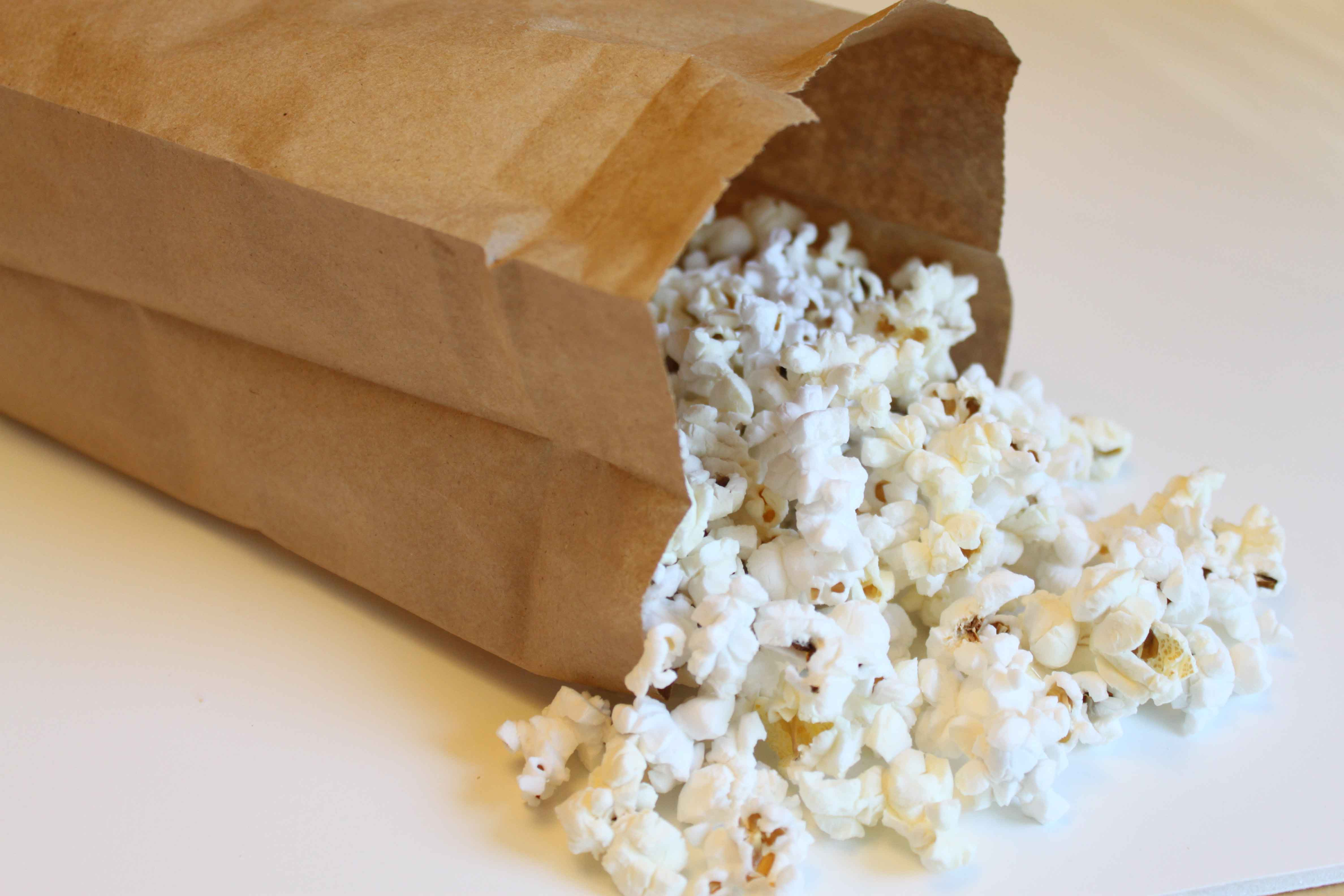 Homemade Microwave Popcorn - Pinching Your Pennies