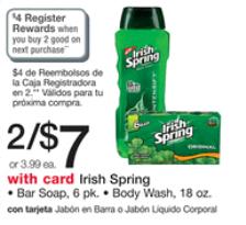 Irish spring RR