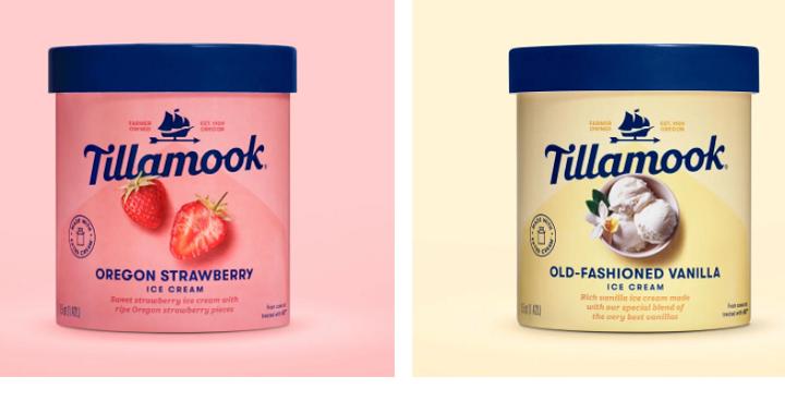 Free 48oz container of Tillamook ice cream (printable coupon)